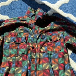 Other - Disco Tile button down